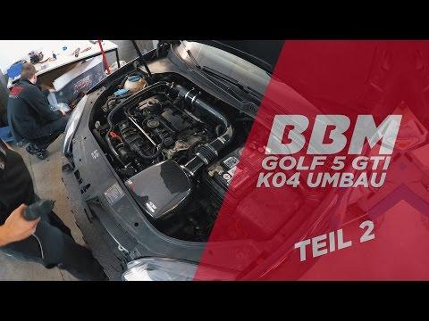 Die Zeiten!   Golf V GTI K04 Turboumbau Teil 2 by BBM