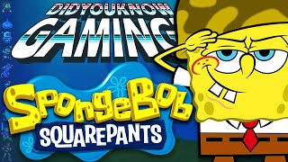 SpongeBob Squarepants Games - Did You Know Gaming? Feat. Nostalgia Trip