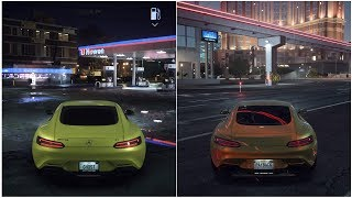 Need for Speed Payback VS Need for Speed 2015 (Night Time)