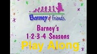Barney's 1-2-3-4 Seasons Play Along