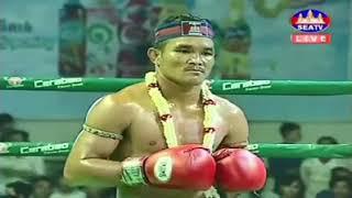 Morn Sameth vs Tisa (Thai) Seatv Khmer boxing 17/11/2018