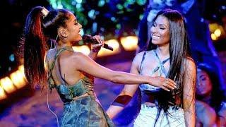 Ariana Grande ft Nicki Minaj  Performance Side To Side Live at the AMA's 2016