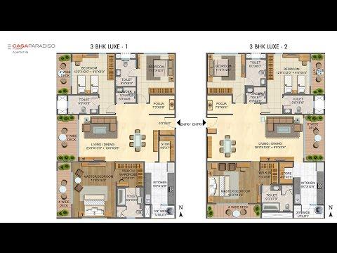 Lodha Casa Paradiso, Hyderabad, Floor Plan