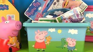 Jouets de Peppa Pig Boîte Remplie de Surprises