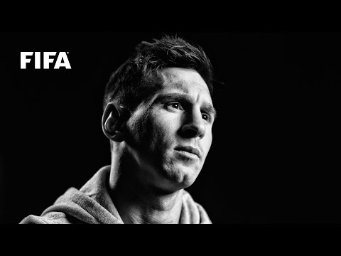 Messi watches Brazil 2014