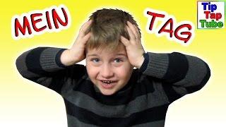Mein Tag - Schule ist doof ;-) Musik Video TipTapTube Kinderkanal