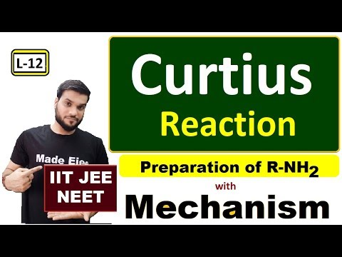 Xxx Mp4 L 12 Amine Preparation Curtius Reaction With Mechanism JEE NEET By Arvind Arora 3gp Sex