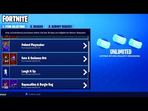 Xxx Mp4 HOW To GET UNLIMITED REFUNDS In FORTNITE NO REFUND LIMIT For SKINS In FORTNITE BATTLE ROYALE 3gp Sex