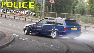 Tuner Cars Leaving a Car Meet - June 2017