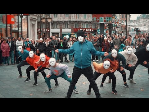 Epic Proposal Flash Mob Guy joins in and is AMAZING