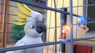 Фиксики - Попугай | Познавательные мультики для детей