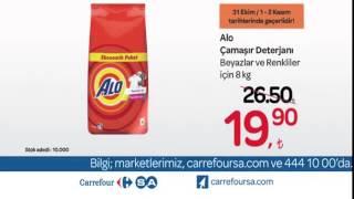 CarrefourSA HaftaSonu İndirimi Alo Çamaşır Deterjanı Reklamı