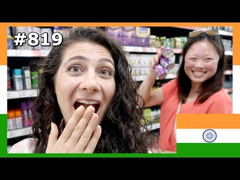 OMG YOU WON T BELIEVE SHE BOUGHT 12 BOTTLES OF THIS INDIAN FOOD DAY 819 TRAVEL VLOG IV