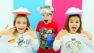 Pamuk Challenge izle. Eğlenceli çocuk oyunları