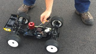 Part 3, LOSI RTR 8IGHT T, Tuning New Motor 1st Time For Base Tune Using Byrons 30%/11% Fuel