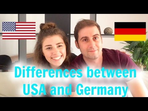 Germany Week 6 // DIFFERENCES BETWEEN