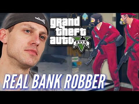 Xxx Mp4 Ex Bank Robber Attempts A Heist In Grand Theft Auto V • Pro Play 3gp Sex