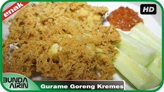 Resep Masakan Ikan Gurame Goreng Kremes Cara Mudah Simpel Cooking Recipes Indonesia Bunda Airin