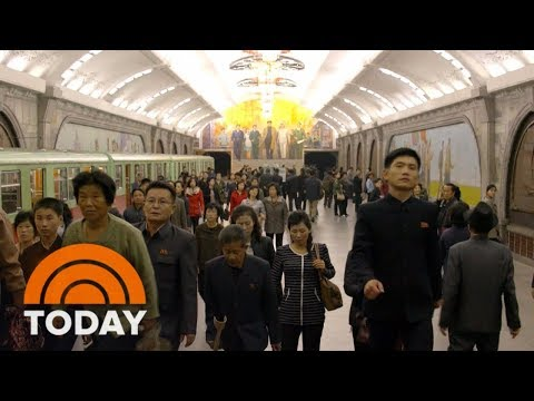 On Eve Of Winter Olympics A Rare Look Inside North Korea TODAY