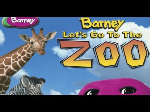 Barney Let s Go To The Zoo