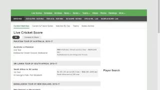 04. How to Watch Cricket Live Scorecard Commentary using Cricbuzz