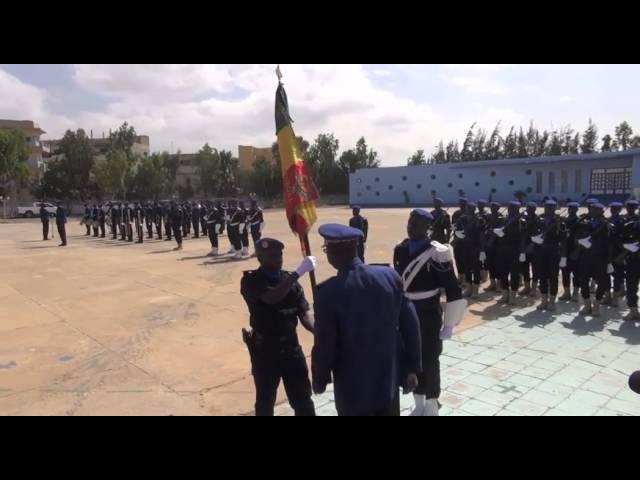 Remise de drapeau au 4è contingent sénégalais_ Minusma