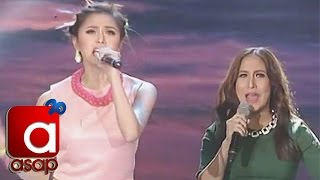 Kim Chiu accepts ASAP Karaokey challenge with Jolina and Luis