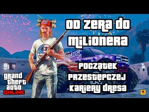 watch GTA 5 Online - Od zera do milionera: początek kariery dresa