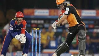 IPL 2017 Delhi Daredevils vs. Sunrises Hyderabad match Boundaries Highlights