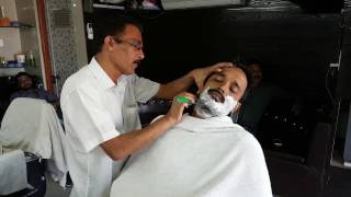 Relaxing shave