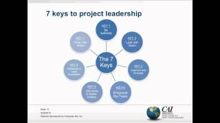 7 Keys to Transformation from Project Manager to Project Leader
