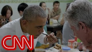 Anthony and Anderson talk Vietnam, dining with Obama