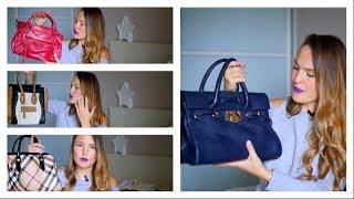 Моя коллекция сумок. Burberry/ Coccinelle/ Jimmy Choo