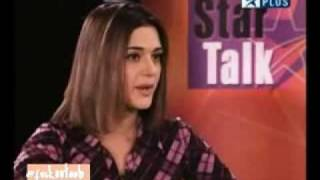 Preity Zinta honey on Interview by Naveid.flv
