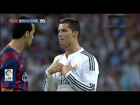 Real Madrid vs Barcelona 3-1 All Goals & Highlights 25.10.2014