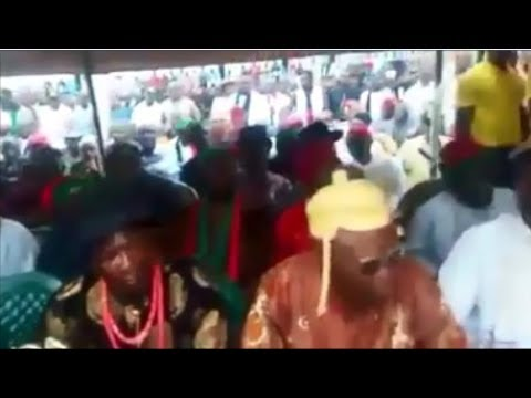Biafrexit: Kings of Port Harcourt Addressing Nnamdi Kanu (LIVE)