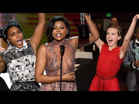 Xxx Mp4 7 BEST Moments From The 2017 SAG Awards 3gp Sex
