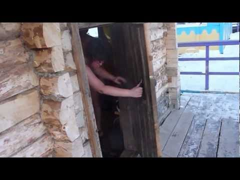 NUDE SAUNA FUN - BANJA - Russian Sauna | Naked Sauna failed jump in Ice Water - БАЊА [HD]