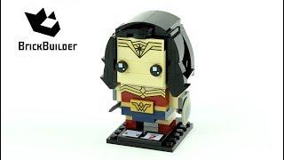 Lego BrickHeadz 41599 Wonder Woman - Lego Speed Build