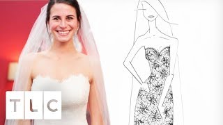 Heidi Designs Mary Margret Lace Dress To Play Tribute To Bride's Aunt | Bride By Design