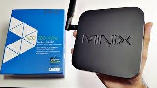 MINIX NEO Z83-4 PRO 4K MINI PC REVIEW - 4K YOUTUBE / NETFLIX