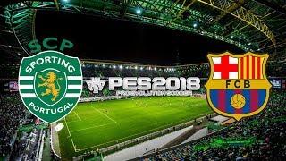 Sporting Lisbon vs Barcelona, Champions League - Matchday