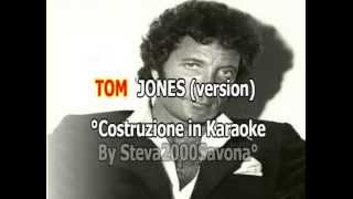 YOU'RE MY WORLD _ TOM  JONES -  KARAOKE  .- VIDEOKARAOKEMANIA