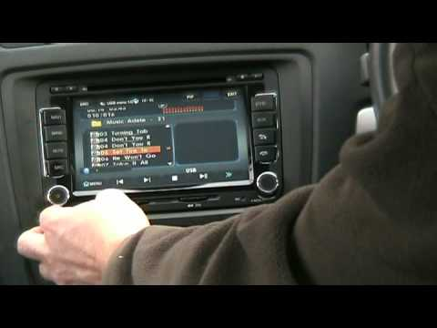 Chinese noname double din head unit software review and upgrade