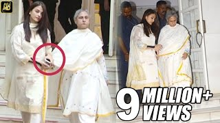 Aishwarya Holds Jaya Bachchan