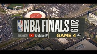 2019 NBA Finals | Toronto Raptors vs Golden State Warriors Game 4 ESPN on ABC Intro
