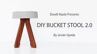 DIY Concrete Stool | A Dwell Made Modern DIY Project