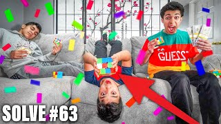 Last To Stop Solving A Rubiks Cube Wins $10,000! (RUBIKS CUBE CHALLENGE!)