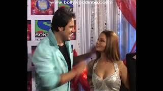 Hot & Sexy Rakhi Sawant With Krushna & Rajiv Nigam @ Comedy Circus - HD