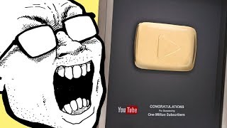 SPECTACULAR Gold Play Button Unboxing!